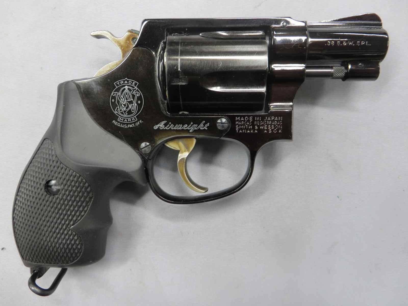 【タナカ】S&W M37 J-Police スチールフィニッシュジュピター